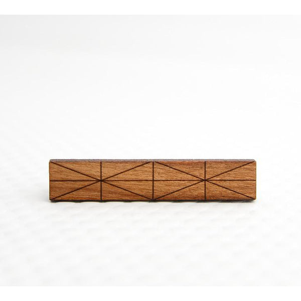 Mies Walnut Tie Bar