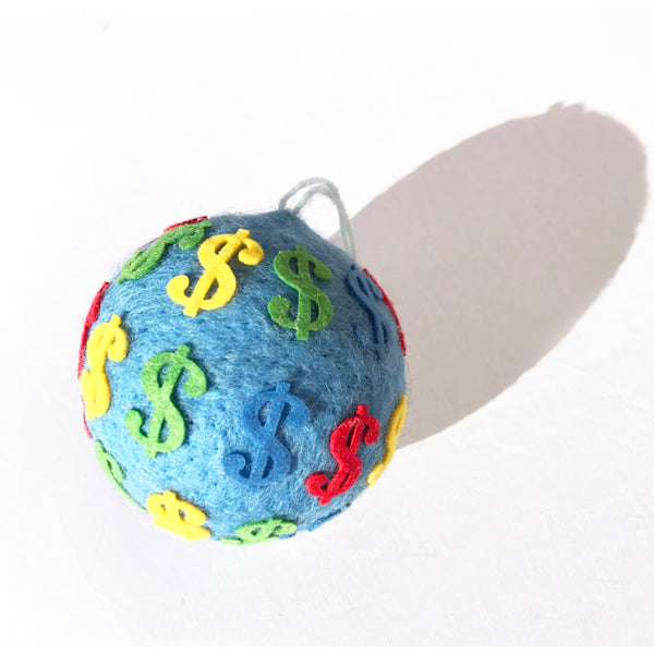 Felted Artist Inspired Ornament Balls