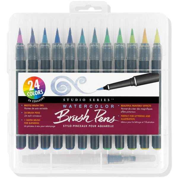 Studio Series Watercolor Brush Pens Set Of 24