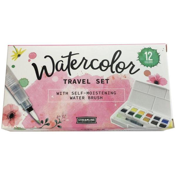 Travelling Artist's Watercolor Set