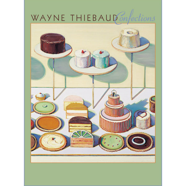 Wayne Thiebaud Confections Boxed Notecards