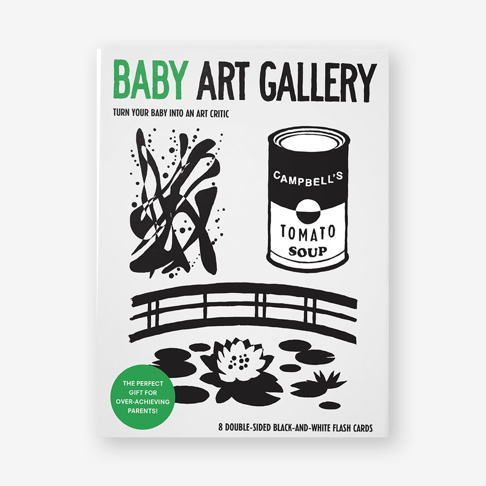 Baby Art Gallery: Turn Your Baby into an Art Critic