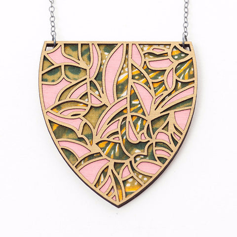 Batik 2 Necklace - Molly M Designs