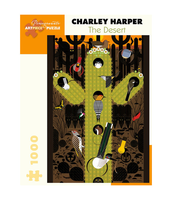 Charley Harper The Desert Puzzle