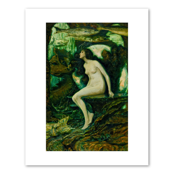 "Frederick Judd Waugh ""The Mermaid""  Archival Print"