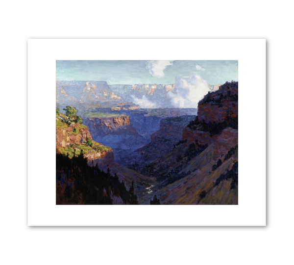 "Edward Henri Potthast ""Looking Across the Grand Canyon"" Print"