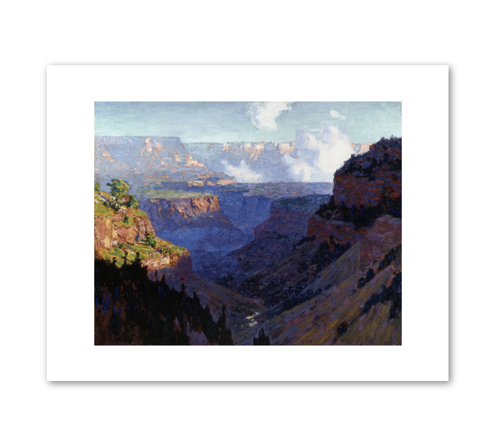 "Edward Henri Potthast ""Looking Across the Grand Canyon"" Archival Print"