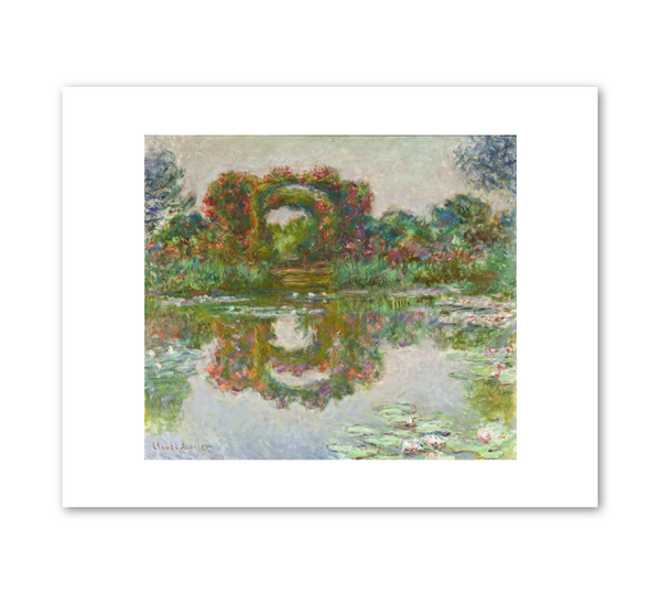 "Claude Monet ""Flowering Arches, Giverny"" Archival Print"