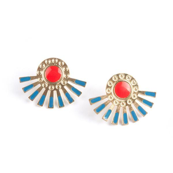 Helios Stud Earrings