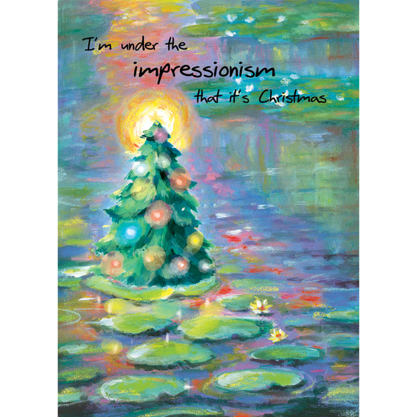 Impressionism Holiday Cards