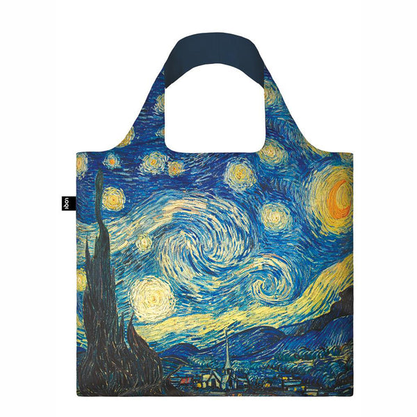 Vincent Van Gogh The Starry Night Reusable Tote Bag