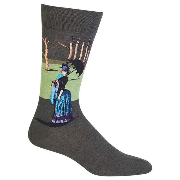 Men's Seurat's A Sunday Afternoon Trouser Socks