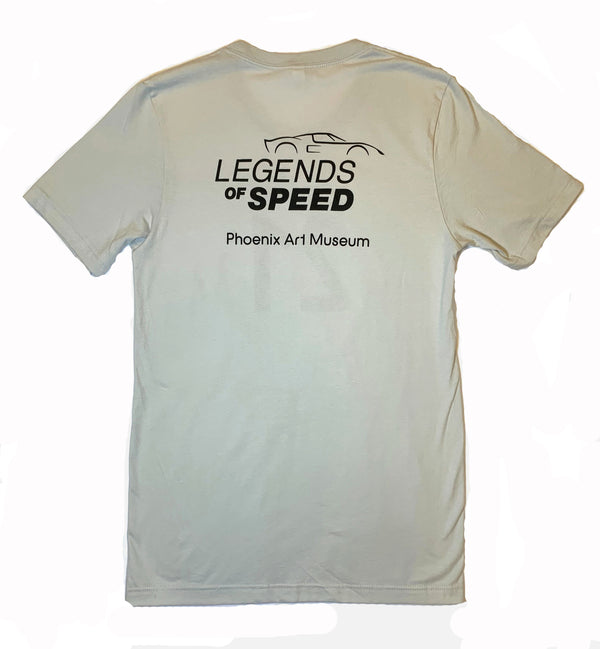 Legends of Speed Exhibition T-Shirt - Gray 21