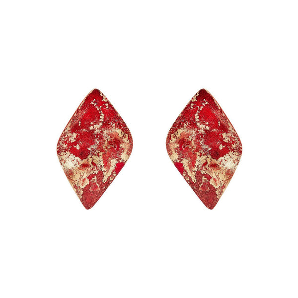 Fire Mini Twist Earrings