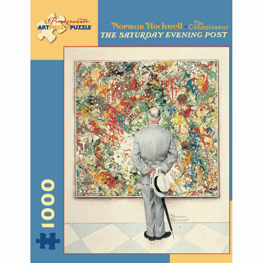 Norman Rockwell: The Connoisseur 1000 Piece Puzzle