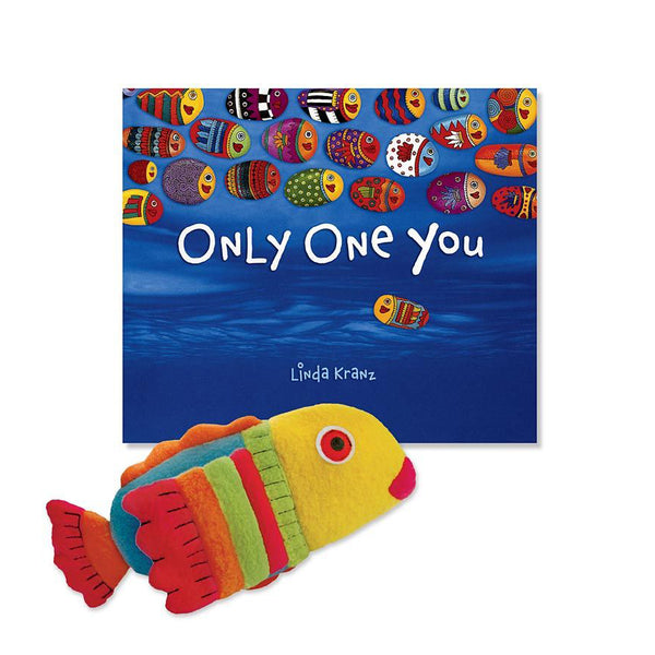 Only One You Book & Fish Puppet Gift Set