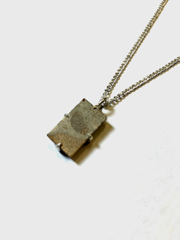 Architectural Salvage Paver Necklace
