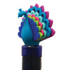 Peacock Wine Stopper and Markers Set