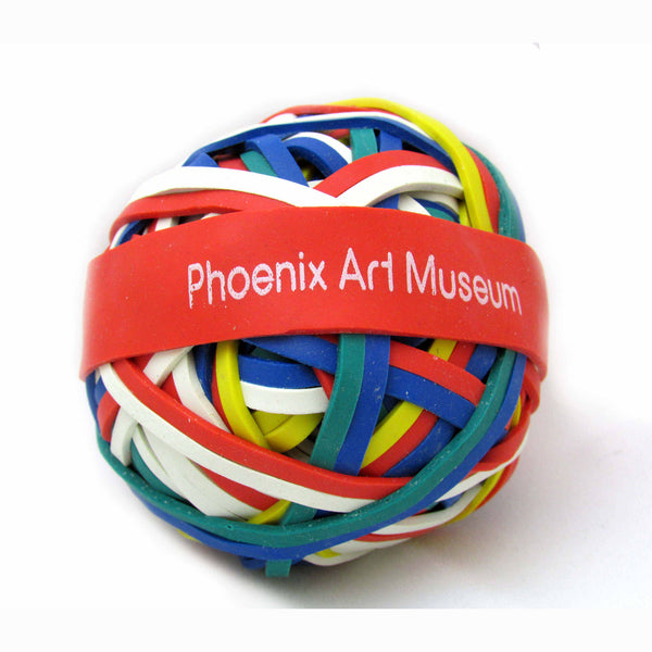 Phoenix Art Museum Rubber Band Ball