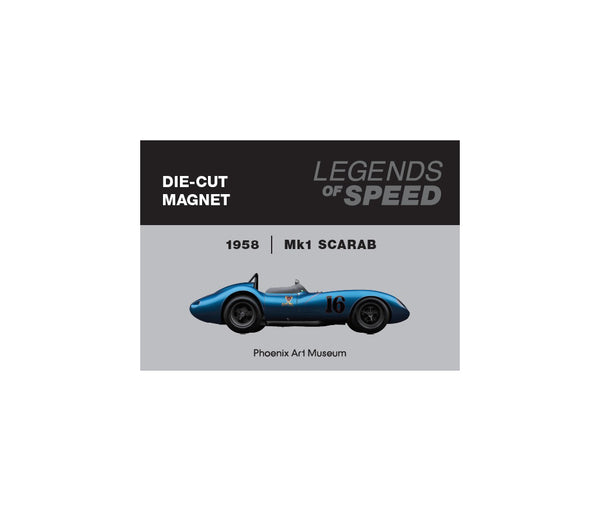 Legends of Speed Exhibition Magnets