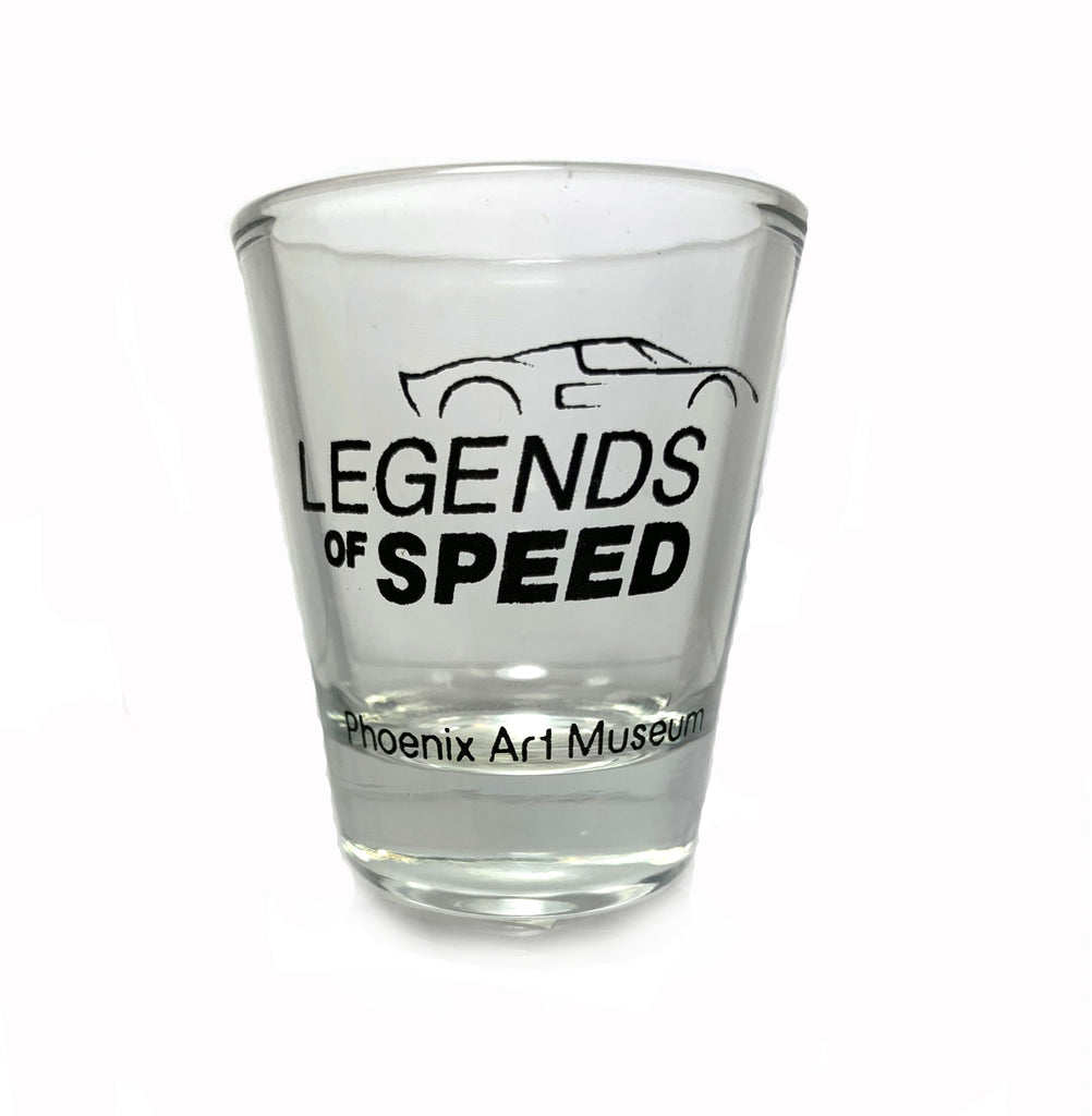 Legends of Speed Exhibition Shot Glass