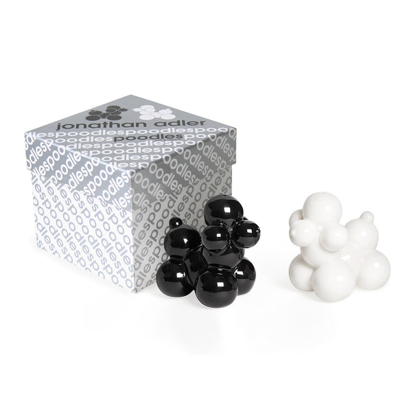 Jonathan Adler Poodles Salt & Pepper Shakers