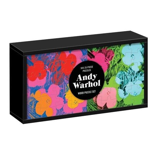 Andy Warhol Wooden Jigsaw Puzzle Set