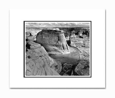 Ansel Adams Canyon de Chelly National Monument, Arizona Matted Reproduction