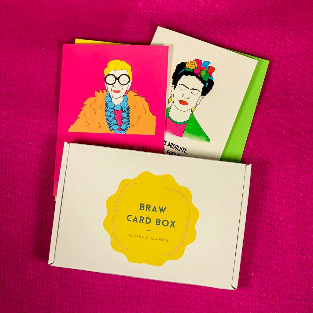 Braw Card Box - Greeting Cards to your Door monthly!