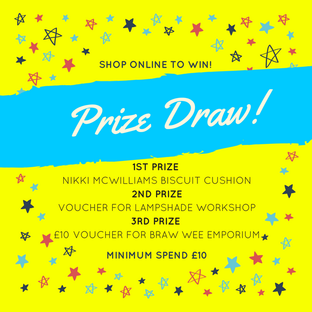 Happy New Year with our Online Prize Draw!