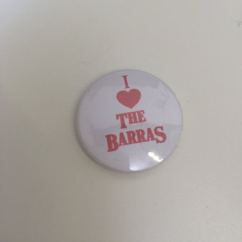 Braw Wee - I Heart the Barras Badge