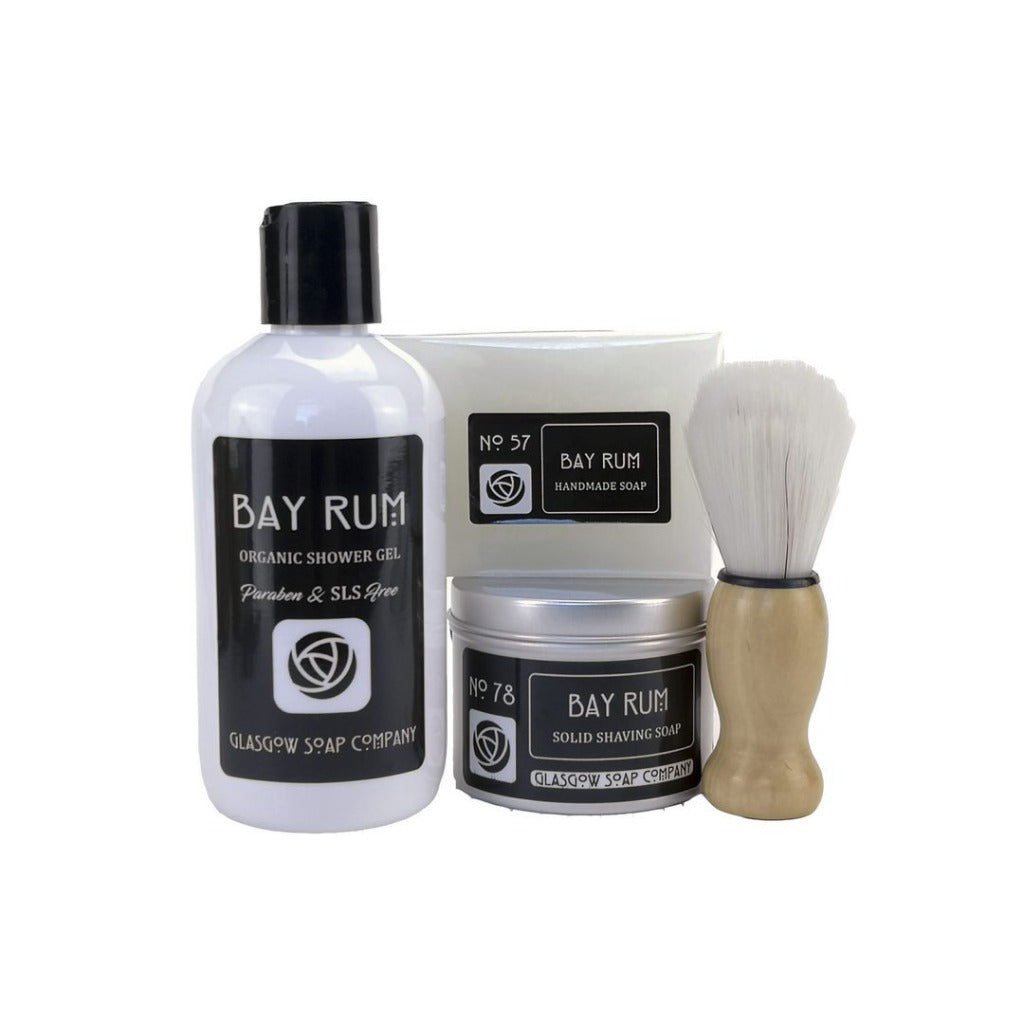Bay Rum Gift Box - Glasgow Soap Company Braw Wee Emporium