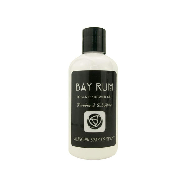 Bay Rum Shower Gel - Glasgow Soap Company Braw Wee Emporium