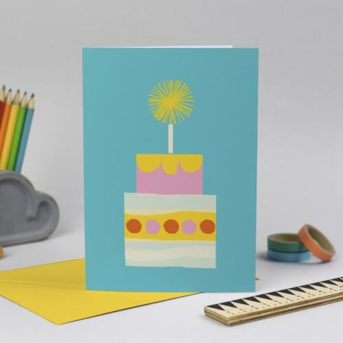 Birthday Cake Illustration by Anna Dunn Braw Wee Emporium