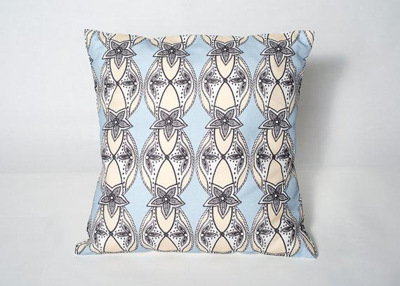 Dynasty Cushion - Louise Isobel Designs - Braw Wee Emporium