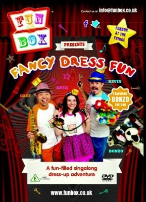 Fun Box - Fancy Dress Fun DVD - Braw Wee Emporium