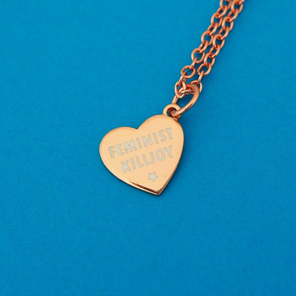 Feminist Killjoy Charm Necklace - Hand Over Your Fairy Cakes - Braw Wee Emporium