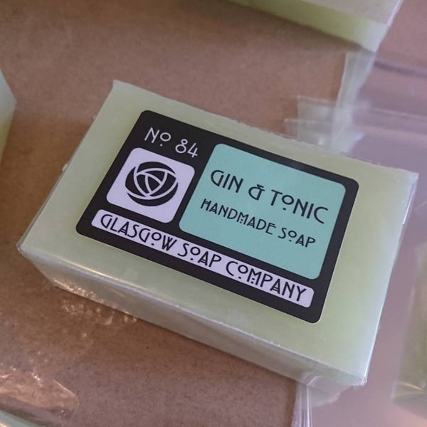 Gin & Tonic Soap by Glasgow Soap Company - Braw Wee Emporium