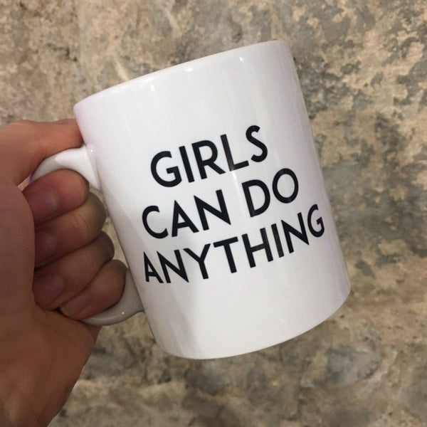 Girls Can Do Anything - Steamboats Design - Braw Wee Emporium