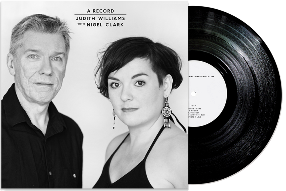 Judith Williams with Nigel Clark - A Record Vinyl - Braw Wee Emporium