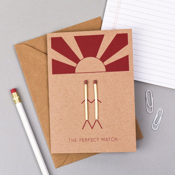 Perfect Match Card - Kate & The Ink Braw Wee Emporium