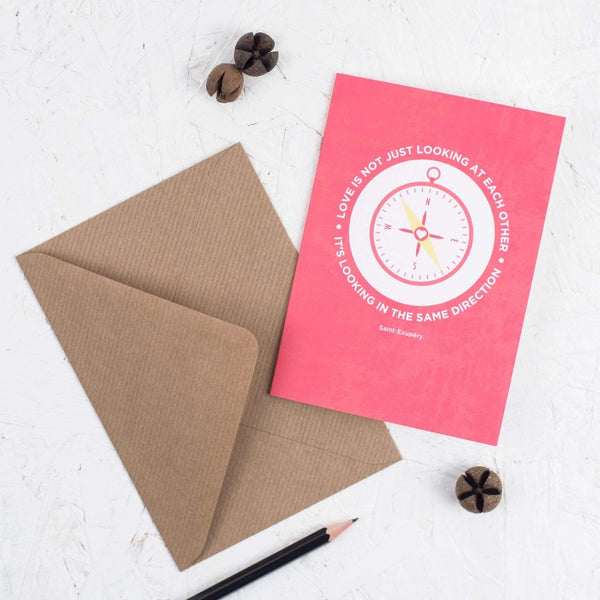 Love Quote Card - Kate & The Ink Braw Wee Emporium