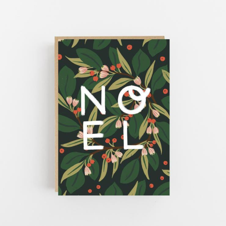 Noel Christmas Card- Lomond Paper Co - Braw Wee Emporium