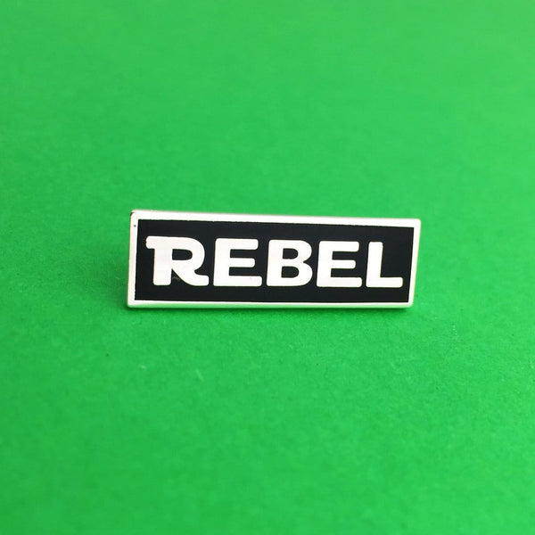 Rebel Enamel Pin - Hand Over Your Fairy Cakes Braw Wee Emporium