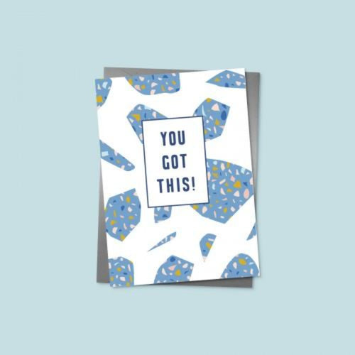 You Got This Card - Terrazzo - Braw Wee Emporium