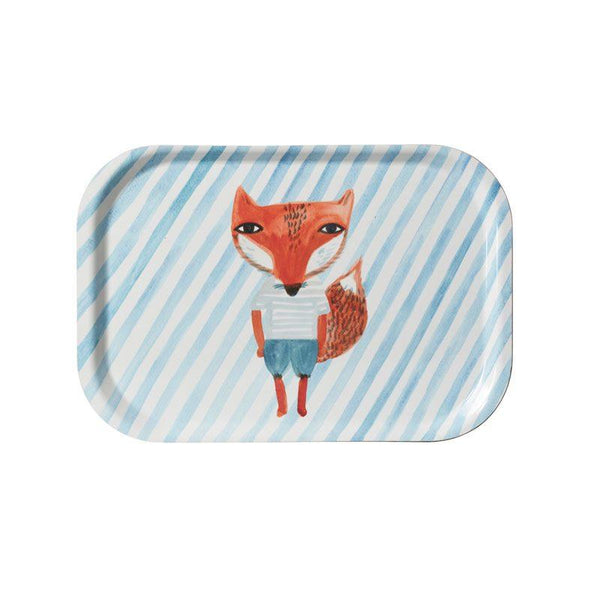 Fox Stripe Mini Tray - Donna Wilson - Braw Wee Emporium