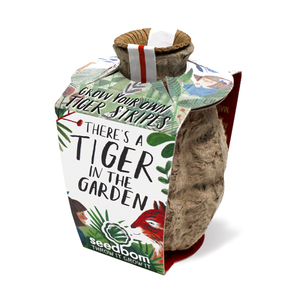 There's a Tiger in the Garden Seedbom - Braw Wee Emporium