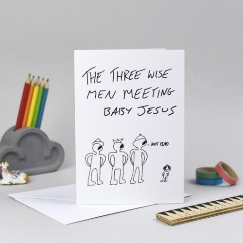 The Three Wise Men Card - Gungawins Braw Wee Emporium