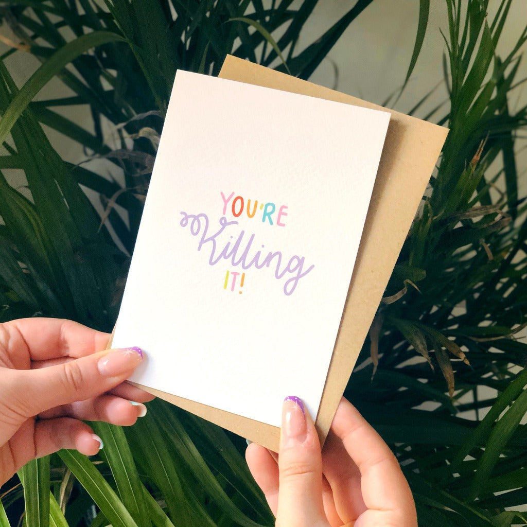 You're Killing It  - XOXO Designs by Ruth Braw Wee Emporium