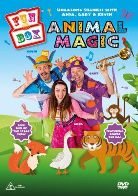 Fun Box - Animal Magic Show DVD - Braw Wee Emporium